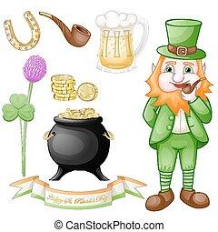 St. Patrick elements