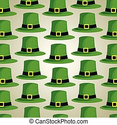 st patrick hat decoration background