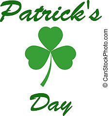 St. Patrick s Day greeting. Vector illustration - Patrick s ...