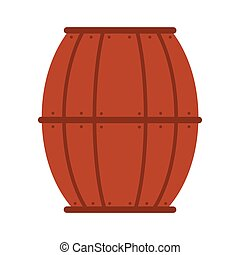 st patrick wooden barrel