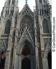 st. patricks のカテドラル, 中に, ニューヨーク