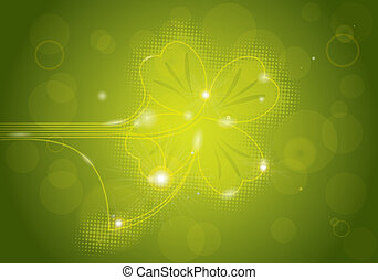 St. Patrick's Background - St. Patrick's background with...