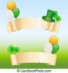 St. Patrick's banner