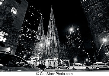 St. Patrick's Cathedral in Manhattan New York City - NYC -...