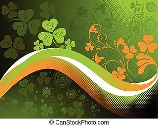 St. Patrick's clover