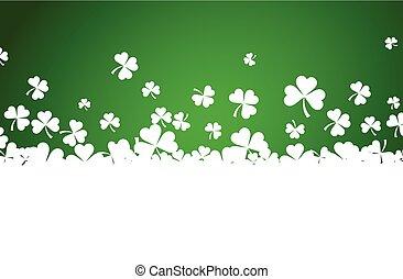 St. Patrick's day background. - St. Patrick's day background...