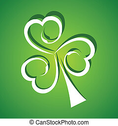 St Patricks Day background stock vector