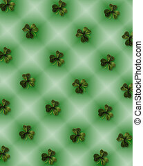St Patricks Day background shamrocks