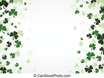 St. Patrick's day background.