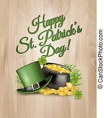 St. Patrick's Day Background. Vector illustration.