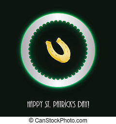 St Patricks day background, Vector Illustration