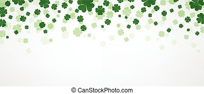 St. Patrick's day banner.