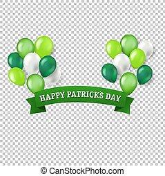 St Patricks Day Banner Transparent Background
