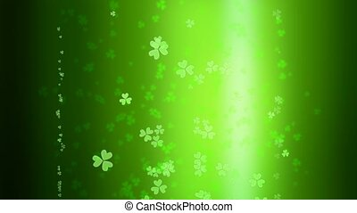 St. Patrick's day Beer Bubbles background