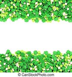 St Patricks Day candy frame