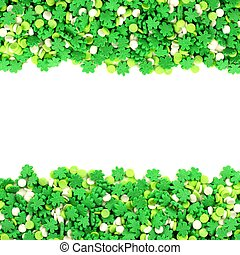 St Patricks Day candy frame