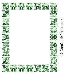 St Patrick\\\'s Day Celtic Knot Frame - Celtic Knot frame...