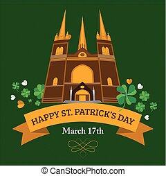 St. Patrick's Day Church Banner