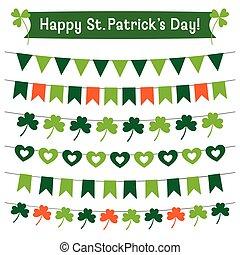 St. Patricks Day decoration set