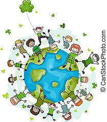 St. Patrick's Day Doodle