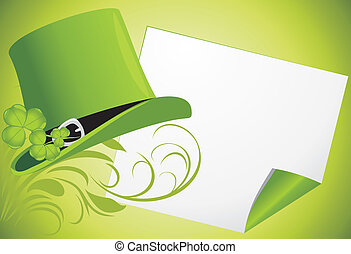 St. Patrick's Day. Festive banner
