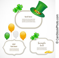 St. patricks day frames