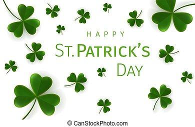 St. Patricks Day greetings card