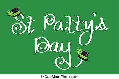 Happy St. Patrick's Patty's Day