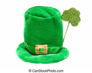 St Patricks Day hat isolated