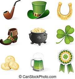 St. Patrick's Day icons