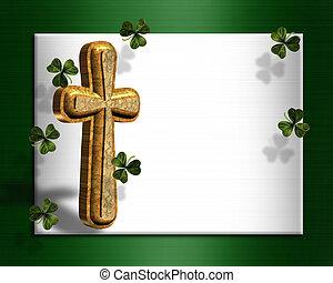 St Patricks day Irish border