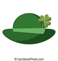 st patricks day leprechaun hat clover
