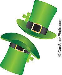 St Patricks Day Leprechaun Hat Illustration