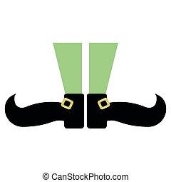 st patricks day leprechaun legs