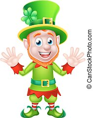 St Patricks Day Leprechaun - St Patricks Day leprechaun...