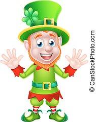 St Patricks Day Leprechaun - St Patricks Day leprechaun...
