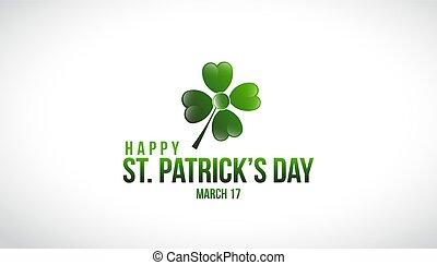 St. Patrick's Day Logo Vector Design