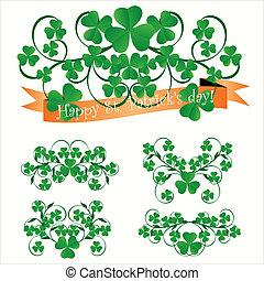 St. Patrick's day ornaments