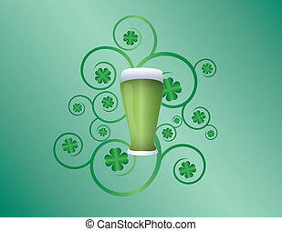 St Patricks day pint
