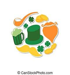 St. Patrick's Day set, holidays