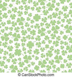 St. Patricks Day Shamrocks Background