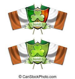 St Patricks Day Shield