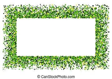 St. Patrick's Day symbol.