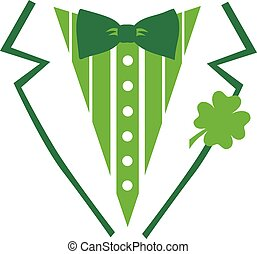 St. Patrick's Day tuxedo for a Shirt