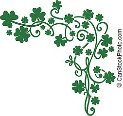 St. Patrick's Day vector elements background
