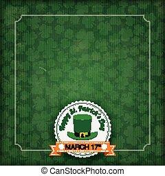 St. Patricks Day Vintage Cover