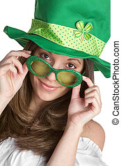 St Patricks Girl - Irish St Patricks day girl