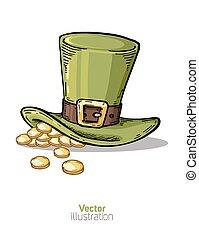 St. Patrick's hat.