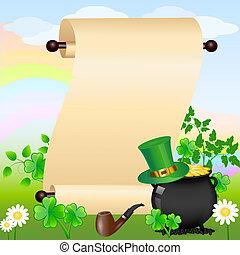 St. Patrick's scroll