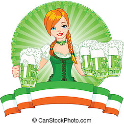 St. Patrick%u2019s Day girl